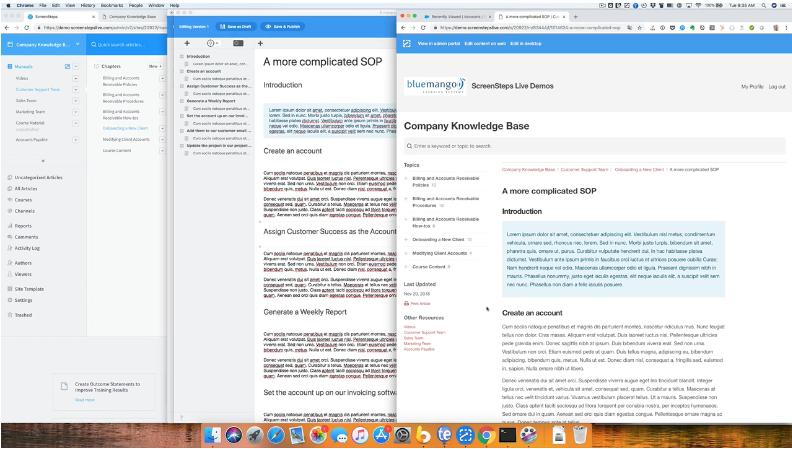 Formatting Complex Articles