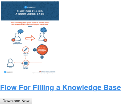 Flow For Filling a Knowledge Base Download Now